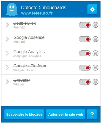 Bloquer les mouchards et trackers avec #Ghostery   Time to Learn   Scoop.it