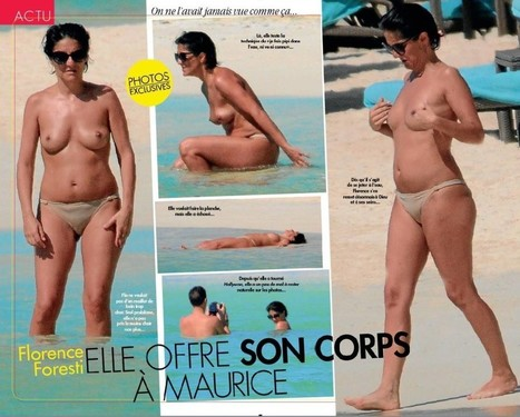 Photos : Florence Foresti seins nus à la plage | Radio Planète-Eléa | Scoop.it