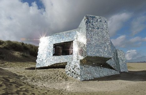 Bunker Miroirs by Anonyme | Art Installations, Sculpture, Contemporary Art | Scoop.it