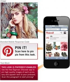 Repinnare le immagini da una rivista cartacea? Con Print-to-pin sipuò! | SOCIALNET ERA | Scoop.it