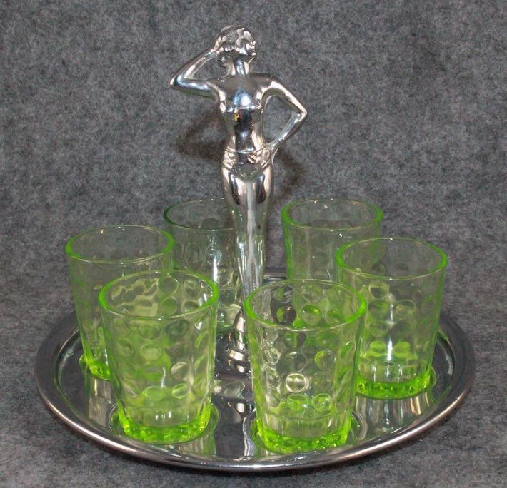 Vintage Deco Pinup Barware | Antiques & Vintage Collectibles | Scoop.it