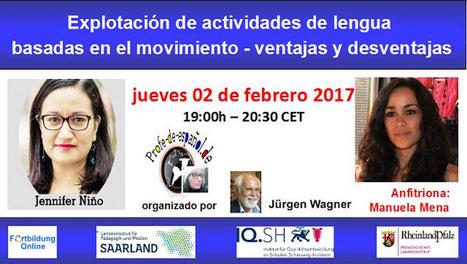 #WEBINARIO. Explotación de actividades de lengua basadas en el movimiento - ventajas y desventajas | Las TIC en el aula de ELE | Scoop.it
