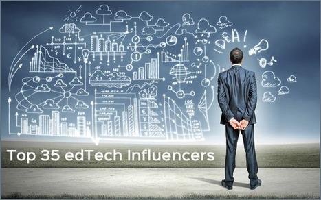 The Top 35 edTech Influencers ~ wibki   Sculpting in light   Scoop.it