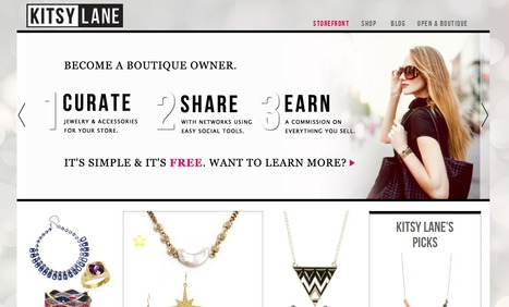 Curate and Earn with Your Own Jewelry and Accessories Web Boutique by Kitsy Lane | Content Curation World | Scoop.it