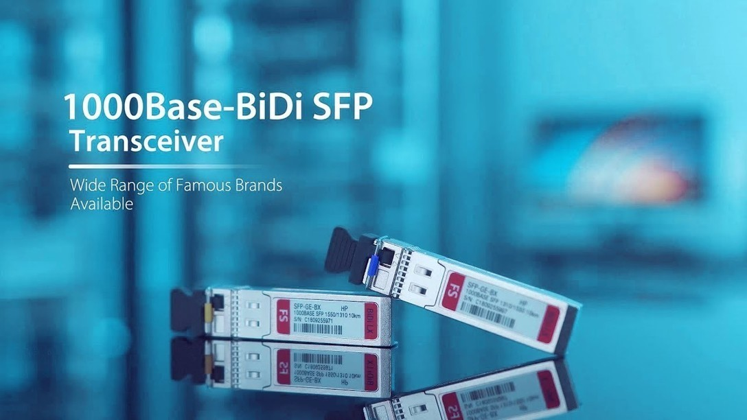 1000BASE-BiDi SFP Optical Transceivers | FS COM
