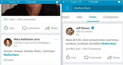 LinkedIn Now Supports Hashtags Again – Sort of | Hashtag : actualités et fonctionnalités | Scoop.it