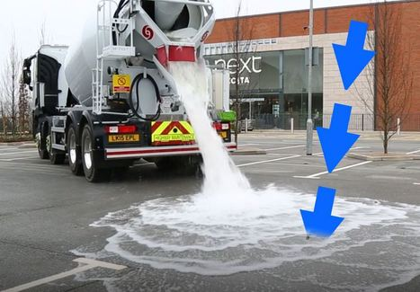This Thirsty Concrete Can 'Drink' 880 Gallons of Water Per Minute   Discovery Blog   Discovery   Theme 3: Resources & the Environment   Scoop.it