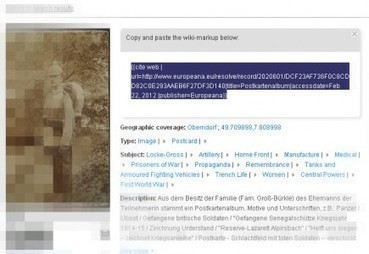 New Feature: Cite on Wikipedia | Museums & Wikipedia | Scoop.it