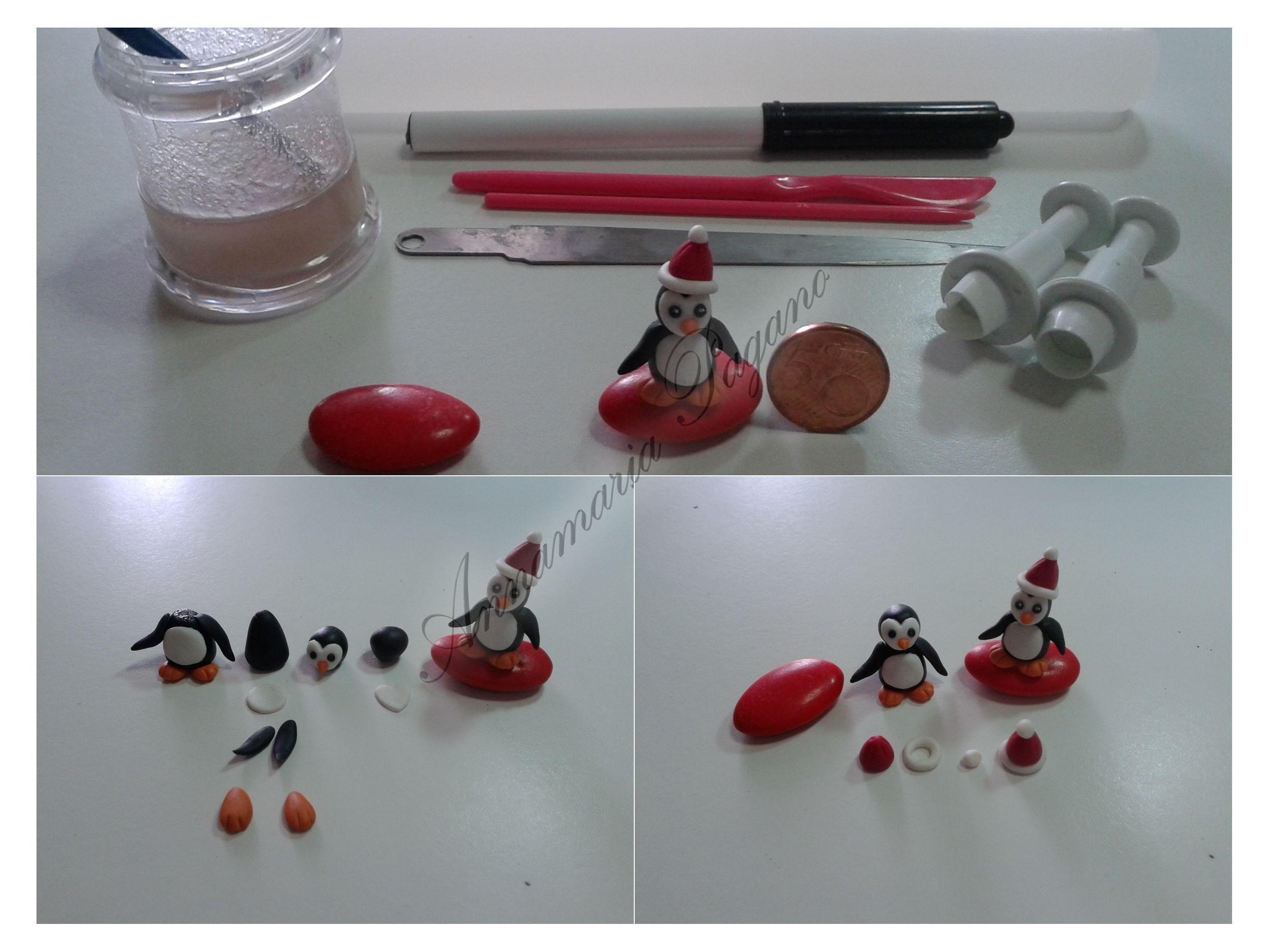 Tutorial Pinguino Natalizio In Mini