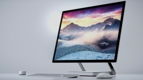 "Microsoft Surface Studio PC announced with ""world's thinnest LCD monitor"" 