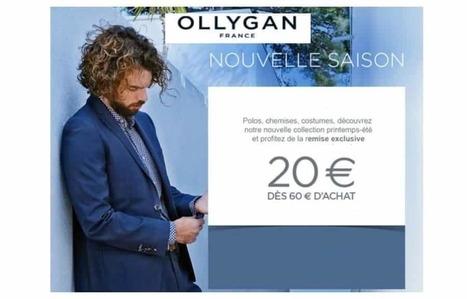 Super Bon Plan 20€ de remise sur Olly Gan (mode homme) dès 60€ d achat 2c80eab8bf83