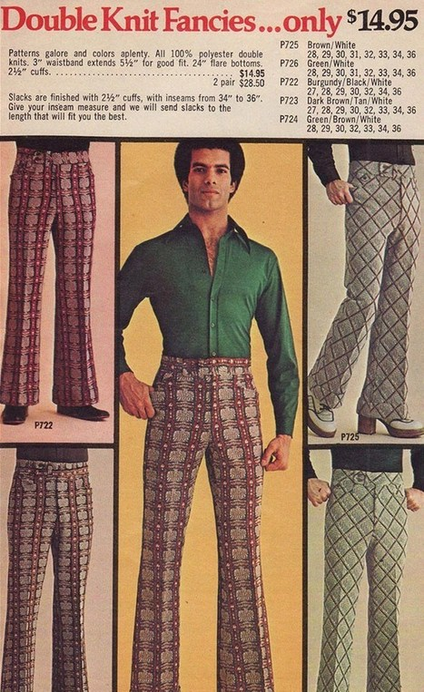 40 Cringeworthy Men's Fashion Ads From the 70s | A Cultural History of Advertising | Scoop.it