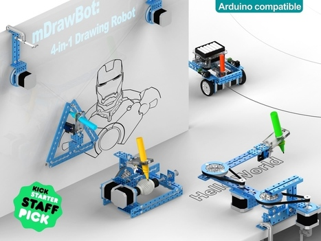mDrawBot: 4-in-1 Drawing Robot   ECE Student Projects Inspiration and Creation   Scoop.it