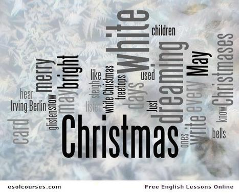 White Christmas, by Lady Gaga | Topical English Activities | Scoop.it