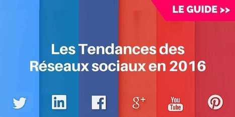 Les 9 Réseaux Sociaux à Prendre en Compte en 2016 | Best of des Médias Sociaux | Scoop.it