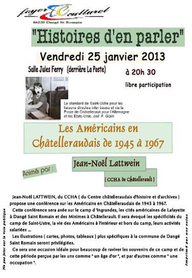 Lulu Sorcière Archive: CCHA - Les Américains en Chatelleraudais de 1945 à 1967 | Rhit Genealogie | Scoop.it