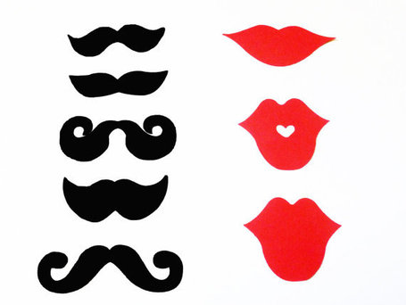 Lip and Moustache Templates submited images.