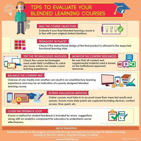 Tips to Evaluate Your Blended Learning Courses | Emantras.us | Exploring Online and Blended Learning | Scoop.it