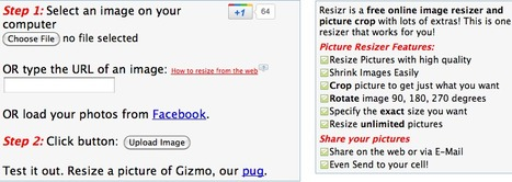 Free Online Image Resizer - Photo & Picture Resize & Crop | Technology Ideas | Scoop.it