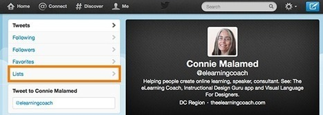 10 Ways to Learn From Twitter: The eLearning Coach | Bilingual News for Students | Scoop.it