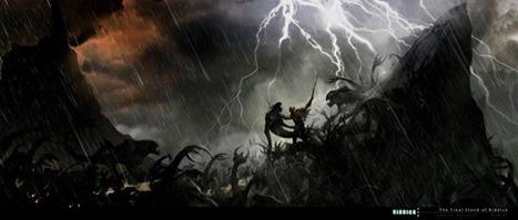 Get your 1st look at Riddick 3's monsters in new concept art | Blastr | A Geekgirls fandoms | Scoop.it