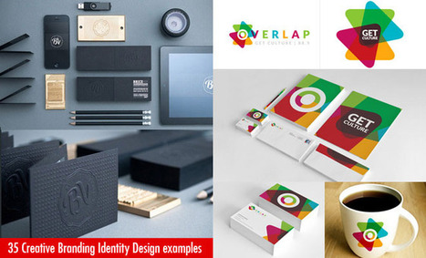 35 Creative and Beautiful Branding Identity Design examples | Wordpress Web Design | Scoop.it