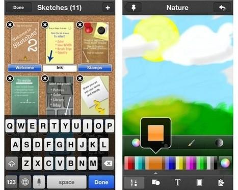 Top 10 Must Have iPad Apps for Logo Designers | Aplicaciones para crear | Scoop.it