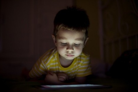 Why Screen Time Before Bed Is Bad For Children | Digital Citizenship Today | Scoop.it