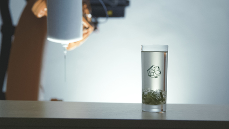 Imprimez en 3D des cocktails géométriques dans vos verres | Digital Design and Manufacturing | Scoop.it