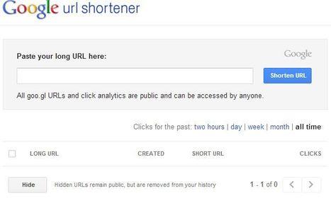 Goo.gl | URL shortener | Tastets de TIC I TAC | Scoop.it
