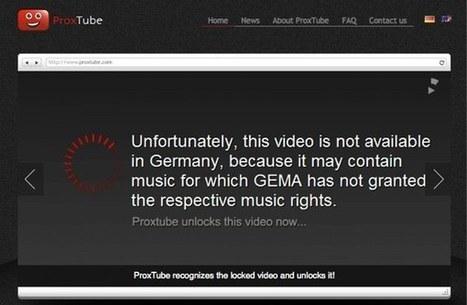 ProxTube: Desbloquea vídeos de Youtube | Las tic en el aula (herramientas 2.0 ) | Scoop.it