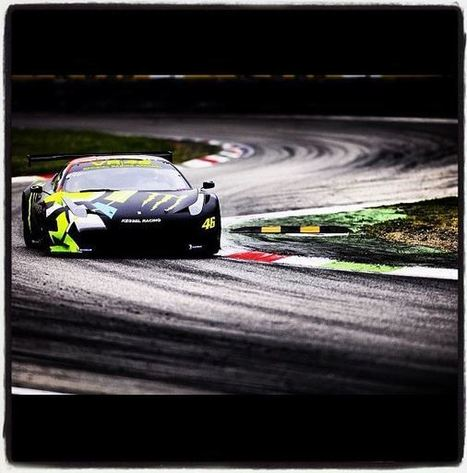 Valentino Rossi Back In A Ferrari 458 This Weekend | Ductalk Ducati News | Scoop.it