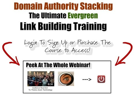 Urgent Update Webinar: Domain Authority Stacking | Network Empire | Content Curation Myths | Scoop.it
