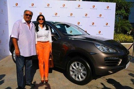 Sridevi Buys A Swanky Porsche Cayenne SUV | News | Scoop.it