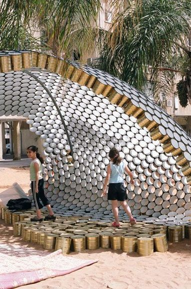 Bat-Yam Cans Pavilion | For our Students | Scoop.it