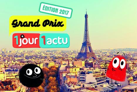Grand Prix 1jour1actu 2017 : prêts ? Partez ! | Ressources pour les TICE en primaire | Scoop.it