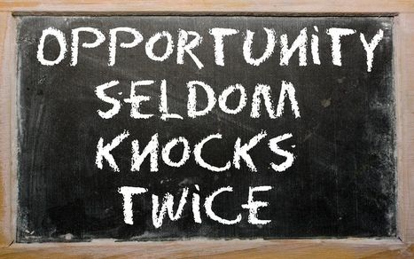 DON'T MISS OPPORTUNITIES - My Best Career Mistake: Drawing a Blank With a Powerful Executive   Leadership   Scoop.it