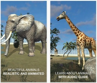 Free Technology for Teachers: Explain VR Virtual Zoo - Animals in Virtual Reality | Mobile learning and app design for educators | Scoop.it
