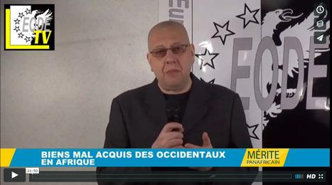 # EODE-TV/ LUC MICHEL: 'BIENS MAL ACQUIS' ? ET SI L'ON PARLAIT DU PILLAGE DE L'AFRIQUE PAR LES OCCIDENTAUX … | AFRIQUE MEDIA TV | Scoop.it