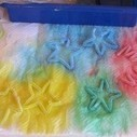 Tie dyeing chenille stems | ways2play | Scoop.it