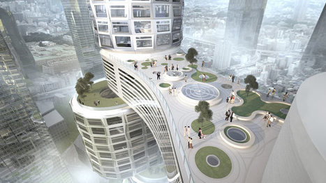 Seoul: Velo Towers by Asymptote - Dezeen   The Architecture of the City   Scoop.it