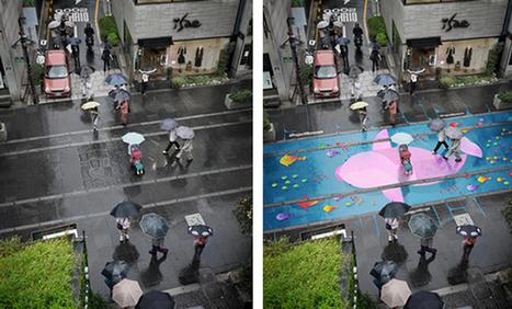 D&AD #Pantone: Project #Monsoon #Paint #Rain #Design #Graphic | Design Ideas | Scoop.it