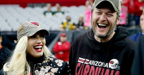 Blake Shelton just took Gwen Stefani on every football fan's dream date | Country Music Today | Scoop.it