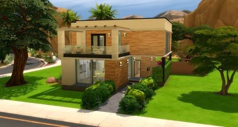 Cactus Maison Sims 4 Poussweethome