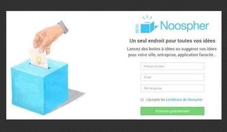 Noospher, la boite à idée numérique! (présentation) | Le Web social au service de l'entreprise | Scoop.it