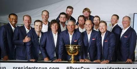 Presidents Cup : Les USA gardent leur bien | Globe Greens | Scoop.it