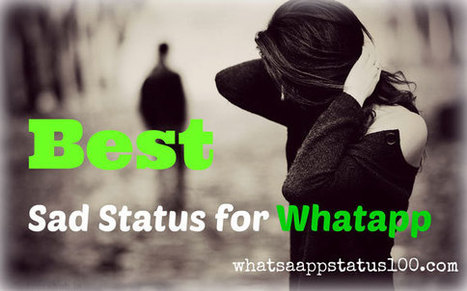 100 Best Sad Status For Whatsapp In Hindi A
