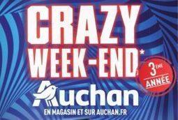 Super Bon Plan Crazy Week End Auchan 2016 Bl