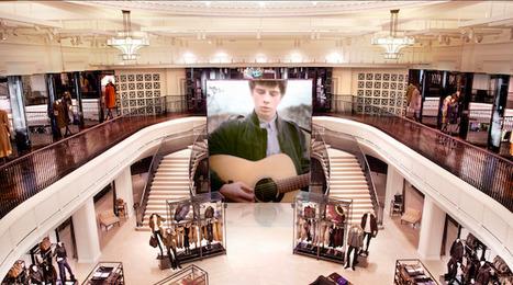 Burberry dévoile le flagship digital le plus innovant du monde à Londres.  |  WonderfulBrands | Emi__Ny | Scoop.it