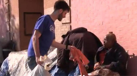 LA Filmmaker Clothes the Homeless in Abercrombie & Fitch | From The Pews' Puter... | Scoop.it
